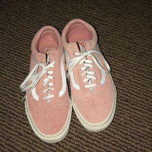Pink Suede Vans